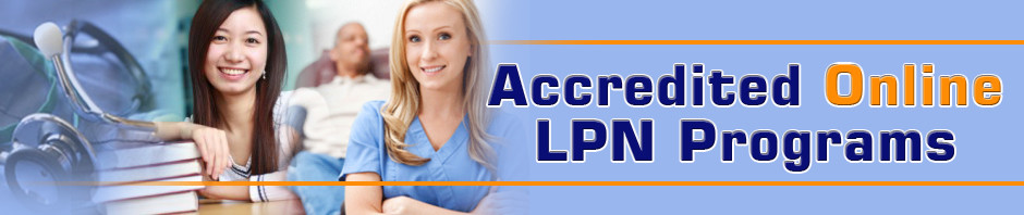 LPN online programs - Accredited